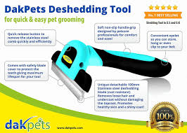 Dog Hair Shedding Blade by Dakpets Furblaster Deshedding U0026 Light Trimming Tool For Dogs