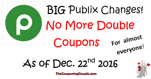 Publix Christmas Trees 2014 by Couponing Changes Publix Ending Double Coupons For Most