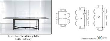 Dining Table Size Vs Room Cool New Dimensions 14 Home