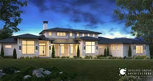 104 Contemporary Modern Floor Plans Multi Level Plan Sendero Homes