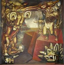 Famous Mexican Mural Artists by David Alfaro Siqueiros Wikipedia