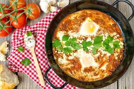 rauchiges shakshuka