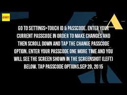 How Do I Change My Password My Iphone 4S