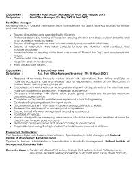 Sample Cover Letter For Hotel General Manager Position Best Of 77 Awesome Resume