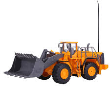 100 Remote Controlled Truck RC Bulldozer Wheeled Loading Shovel Large