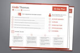 30 60 90 Day Plan Job Application
