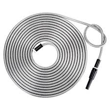 Amazon Strong 304 Stainless Steel Metal Garden Hose with