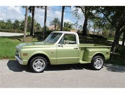 1969 Chevrolet C10 Shortbed Stepside For Sale | ClassicCars.com | CC ... Chevrolet Ck 10 Questions 69 Chevy C10 Front End And Cab Swap 1969 12ton Pickup Connors Motorcar Company C20 Custom Camper Special Pickups Pinterest Vintage Chevy Truck Searcy Ar C10 For Sale Classiccarscom Cc1040563 New Cst10 Sold To Germany Glen Burnie Md Matt Sherman Mokena Illinois Classic Cars Cst Ross Customs F154 Kissimmee 2016 Short Bed Fleet Side Stock 819107 Sale 2038653 Hemmings Motor News