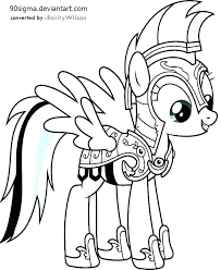 My Little Pony Coloring Pages Twilight Sparkle Alicorn Color Ow Dash Cool Applejack And
