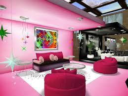 Cool Ideas For Interior Decorating Teenage Girl Bedroom Designs Artistic Pink Theme