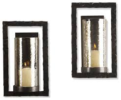 bronze wall sconces modern wall lighting bronze rectangle