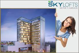 100 Blue Sky Lofts M3M Sector 71 Gurgaon Residential And Commercial