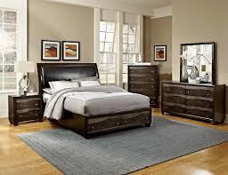 Platform Bedroom Set by Homelegance Redondo Platform Bedroom Set Grey Toned Brown