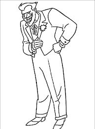 Joker Batman Coloring Pages