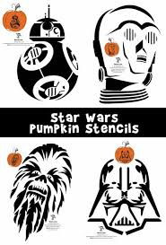 Stormtrooper Stencil Halloween by Star Wars Pumpkin Stencils Woo Jr Kids Activities