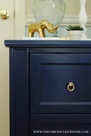 Navy Blue Nightstand Painted FurniturePaint