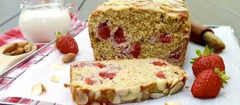 strawberry protein loaf cake