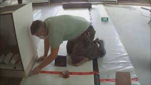 how to lay underlayment for floating hardwood laminate flooring on