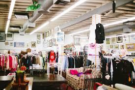best thrift stores cool vintage shops
