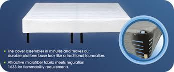Platform Metal Bed Frame by Waterbed Platform Frame Heavy Duty Waterbed Base