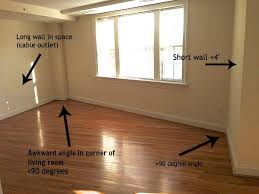 making an awkward shaped living room work i m bored let s go