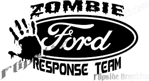100 Ford Stickers For Trucks Custom Zombie Response Decal Cars Windows