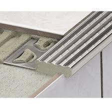 Schluter Tile Trim Uk by Schluter Trep E Stainless Steel Stair Nosing Schluter Trep Stair