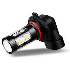 9145 9140 h10 led fog light bulbs 6000k white 360皸50w leds