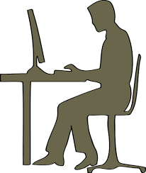 bureau clipart 138 chair free clipart domain vectors