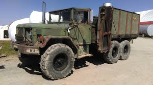 100 Feed Truck 1970 M35A2 Turbo Cattle Feed Truck For Sale