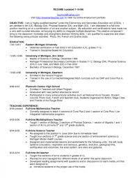 Science Teacher Assistant Resume Example Special Education Objectives For English