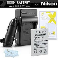 Amazon Battery And Charger Kit For Nikon P100 P500 P510 P520