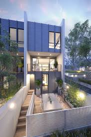 100 Modern Townhouse Designs Modern 4 Plex Townhouse Designs