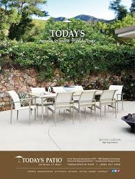 Brown Jordan Flight Sling Collection Today s Patio Magazine Ad