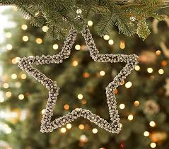 Jumbo Jingle Bell Star Ornament