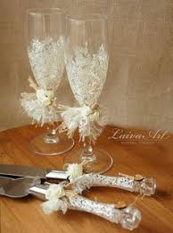 Wedding Cake Server Set Knife Rustic By LaivaArt