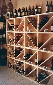 casiers à bouteille casier vin rangement du vin aménagement
