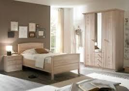 details zu schlafzimmer komplett 3 tlg eiche schrank seniorenzimmer bett buche 100x200 cm