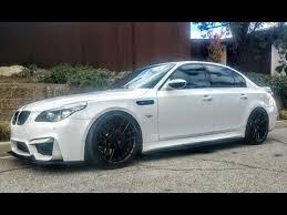 Modified & Bagged BMW E60 M5 SMG e Take