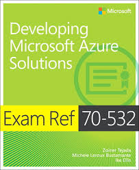Pearson Desk Copy Return by Pearson Education Exam Ref 70 532 Developing Microsoft Azure