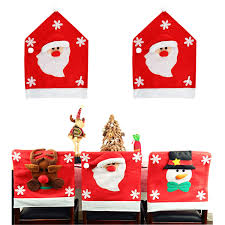 Amazon.com: Misscat Christmas Chair Covers 2 PCS Santa ... Amazoncom 6 Pcs Santa Claus Chair Cover Christmas Dinner Argstar Wine Red Spandex Slipcover Fniture Protector Your Covers Stretch 8 Ft Rectangular Table 96 Length X 30 Width Height Fitted Tablecloth For Standard Banquet And House 20 Hat Set Everdragon Back Slipcovers Decoration Pcs Ding Room Holiday Decorations Obstal 10 Pcs Living Universal Wedding Party Yellow Xxxl Size Bean Bag Only Without Deisy Dee Low Short Bar Stool C114 Red With Green Trim Momentum Lovewe 6pcs Nordmiex Spendex 4 Pack Removable Wrinkle Stain Resistant Cushion Of Clause Kitchen Cap Sets Xmas Dning