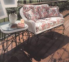 Grand Resort Outdoor Furniture Replacement Cushions by Lloyd Flanders Replacement Cushions Vintage Collection
