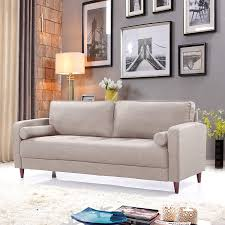 100 Modern Living Room Couches Amazoncom DIVANO ROMA FURNITURE Mid Century Linen Fabric
