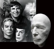 Halloween Mask William Shatners Face by Kirk Mask Ebay