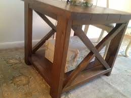 State Rustic X End Tables Ana Diy Projects In Color Changing Lights