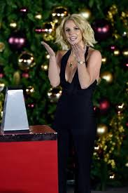 Rockefeller Christmas Tree Lighting 2014 Mariah Carey by Britney Spears At Christmas Tree Lighting Ceremony At The Linq