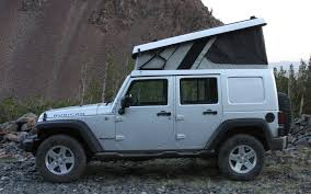Rubicon4wheeler: Ursa Minor Jeep Wrangler Camper