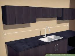 Tin Tiles For Backsplash by 4 Ways To Install A Tin Tile Backsplash Wikihow