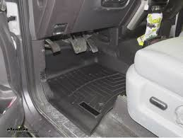 2012 F 250 Weathertech Floor Mats by Weathertech Front Floor Mats Review 2012 Ford F 150 Video