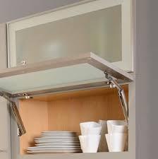 Aluminum Frame Glass Cabinet Door Modern Kitchen Design